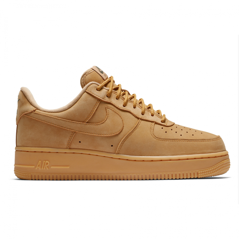 air force 1 negras suela marron