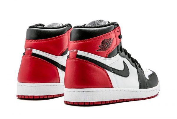 Jordan 1 chicago rojas negras toe