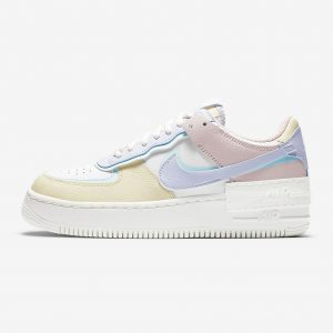 Nike Air Force 1 Shadow Pastel colores claros suaves
