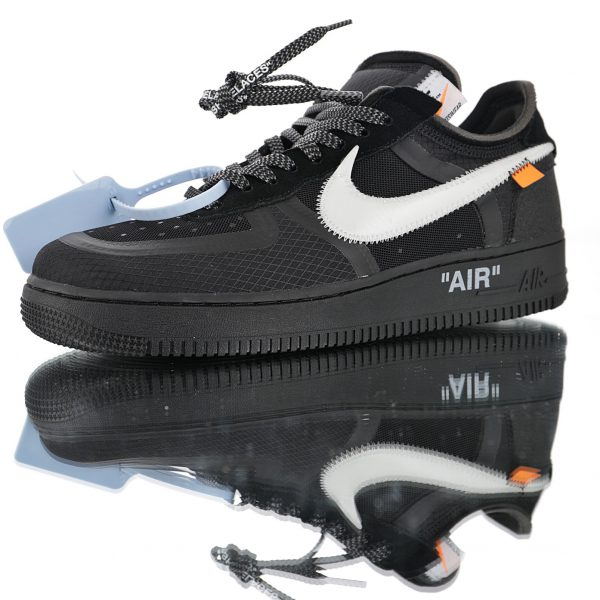 air force 1 off white black negras